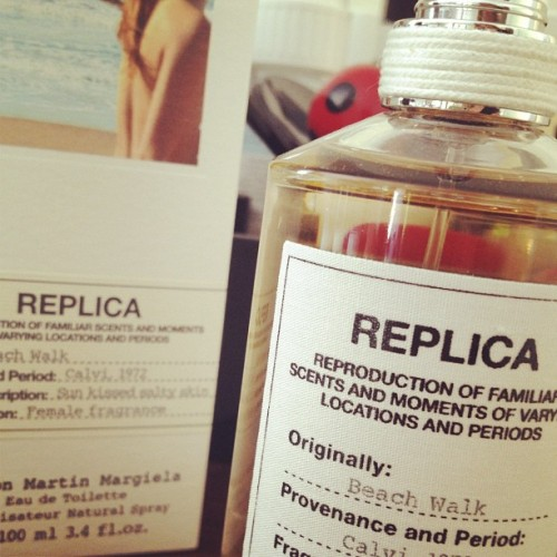 Perfume of the day Maison Martin Margiela Beachwalk #potd #perfume <3 (Taken with Instagram)