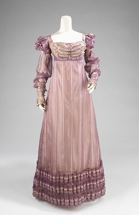 Ball Gown 1820 The Metropolitan Museum of Art