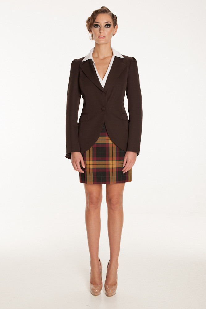 Dougan Jacket, Gilly Skirt SS2013