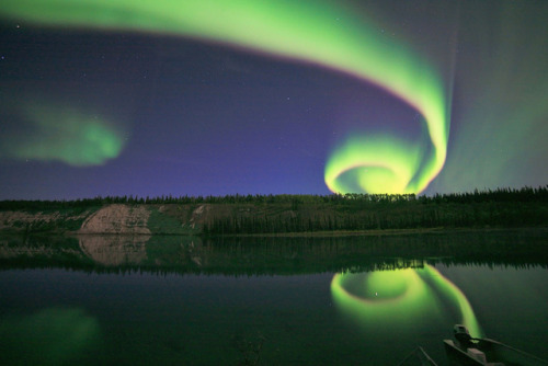 Aurora Uncoiling by David Cartier on Flickr.