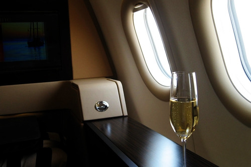 richmenslife:  On board the new Diamond First Class Suite, Etihad Airways