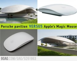 Porsche building looks like Apple's mouse? Sued! from 9GAG by 9GAG Reader (9g.re)