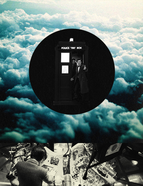 eleven and his tardis + blue for rachel
