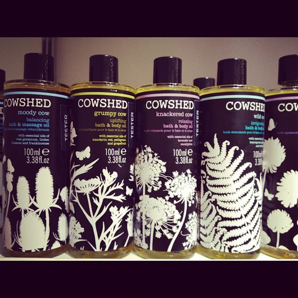 COWSHED BATH & BODY OILS #cowshed#bath#body#oil#colette#beautybox (Pris avec Instagram)