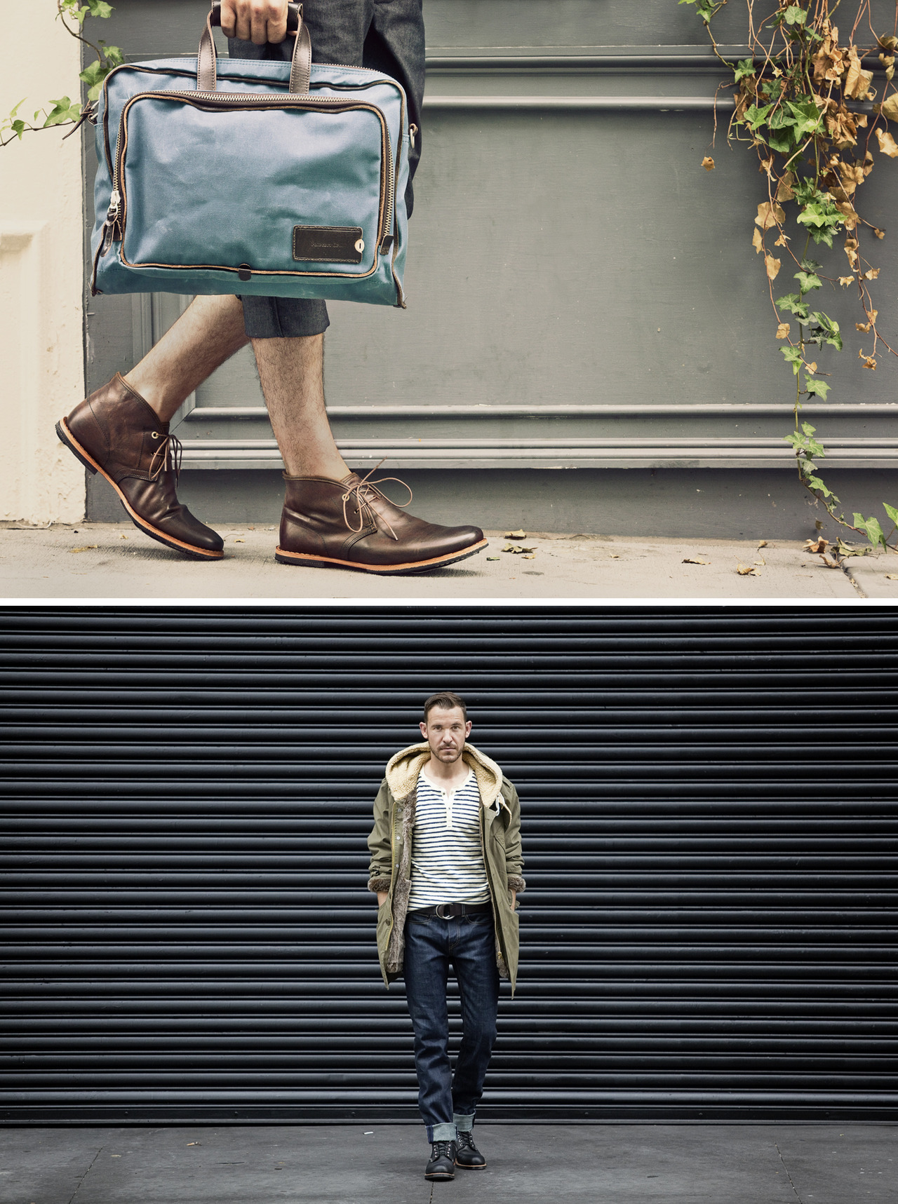 jameschororos:  No. 240 | Flying A | NYShot a Fall lookbook series in SoHo on Sunday for Flying A with the dudes from ClosetFreaks.  The full set will be up on the Flying A website in a few weeks.   Great shot by our talented friend James! More coming soon.