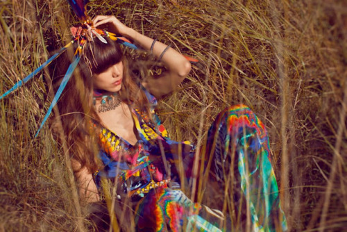 Love: Rainbow Gathering One of the sublime pieces from kaftan queen Camilla's Spring/Summer 12/13 Gypset Collection. From all accounts the swimwear launch will be off the charts. Can't wait. Rainbow Gathering, The Gypset Collection, by Camilla Franks