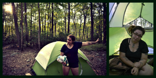 I forgot to tell you, tumblr, I went camping this weekend!