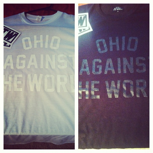 #BLACC #WHITE #OATW : OHIO AGAINST THE WORLD (Taken with Instagram)