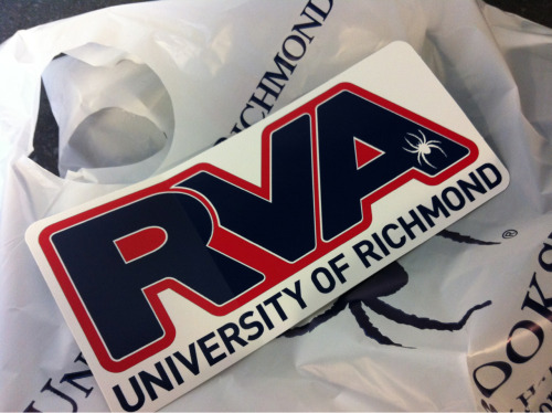 spydrz:  RVA stickers: not just VCU colors anymore!  As much Black and Gold that I bleed, I'm digging this.