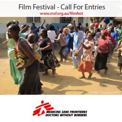 Please SHARE this call for entry with any film-makers and photographers you know who have produced work celebrating the cultures of people in any of the 60+ countries Médecins Sans Frontières have worked in since 1971.Visit  http://www.msf.org.au/filmfest for entry details. Thanks for your support!