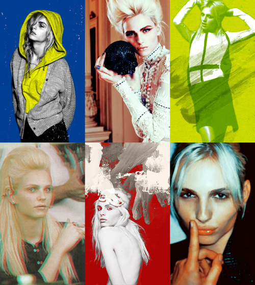 J'adore: Andrej Pejic  With your cherry lips and golden curlsYou could make grown men gaspWhen you'd go walking past themIn your hot pants and high heels
