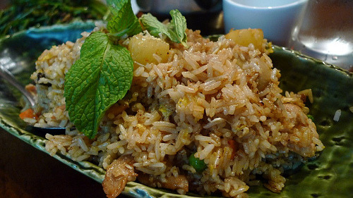 "Very Veggie Pineapple ""Fried"" Rice"