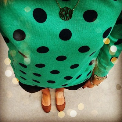 lifewithemilyh:  {polka dot day} (Taken with Instagram)