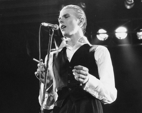 1976 - David Bowie 3rd May, 1976, Wembley, London via: herehewentnofurther: