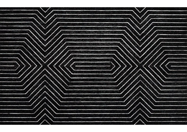 chrisrossi: frank stella black paintings | via texturism: mondaysprojects