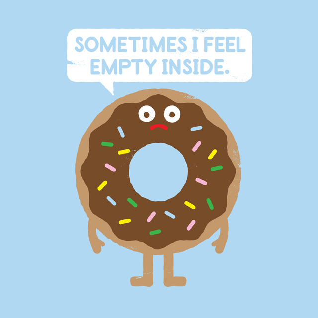 "designersof:  ""It's Not All Rainbow Sprinkles…"" by David Olenick Prints and more available at society6.com. Follow my Tumblr blog at davidolenick.com. Vote to make my designs into t-shirts at threadless.com."
