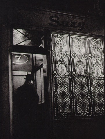"Brassai (Gyula Halasz) ""House of illusion"" From ""Paris by Night"" 1933"