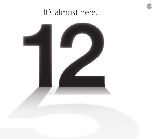 "Apple is sending out press invites for the September 12 event, confirms The Loop's inimitable Jim Dalrymple (a.k.a. The Beard). Apple is expected to announce the next-generation iPhone at the event. The shadow of the the Number ""12"" on the invite looks like Number ""5"". Looks like Apple is hinting at the fact the next iPhone may indeed be called the iPhone 5."