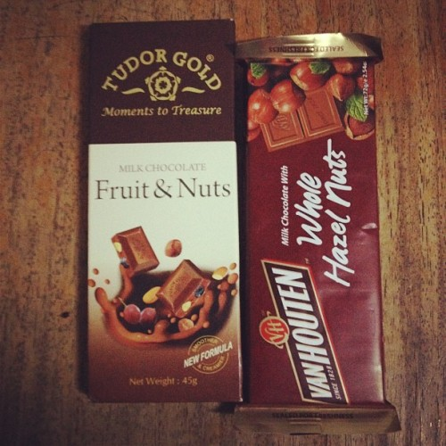 Chocolates! Andaming binili ni mama na chocolates! (Taken with Instagram)