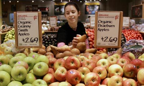 The organic movement has arguably achieved a great deal. On the biggest issues, it has really won the debate. Most people now accept that you can't just spray and inject your way to sustainable food production, that there is much to be gained from more integrated farming practices that deploy resources from the earth rather than from chemical factories. But as conventional farming adapts, the best way ahead becomes much less clear. If we want food that is good for humans, animals and the environment, the priority now is not to praise organics or to bury it, but to accept we must look beyond it.  Why have we fallen out of love with organic food? - By Julian Baggini Photograph: Jeff Haynes/AFP/Getty Images