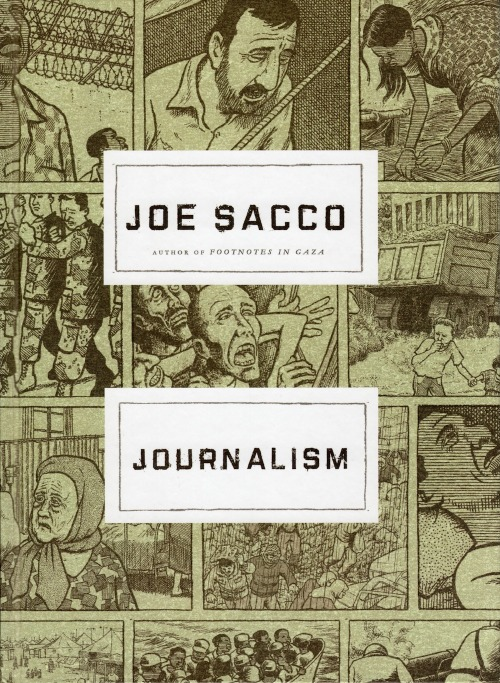 "atavist:  Joe Sacco and the rise of ""longform comics reportage."" (Just a few weeks until our own foray into this exciting new genre!)"