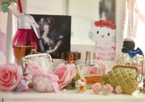 My make-up table. :3