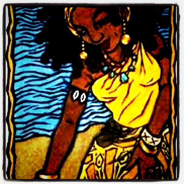 Mama Oshun always gives you what you need! #Oshun #orisha #culture #Yoruba #laregla (Taken with Instagram)