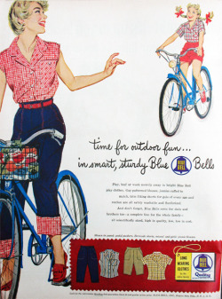 Blue Bell clothes, 1949