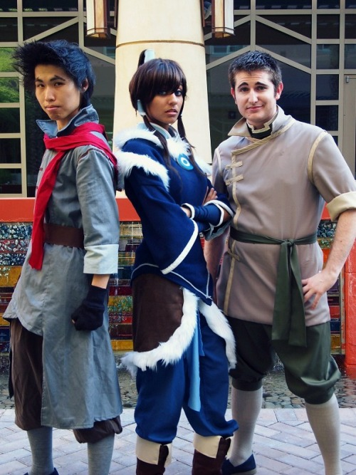 ledroid:  mako bolin korra photography  ARGJFGFHB— MY favorite Korra!! And Our good friend Gackto as Mako!