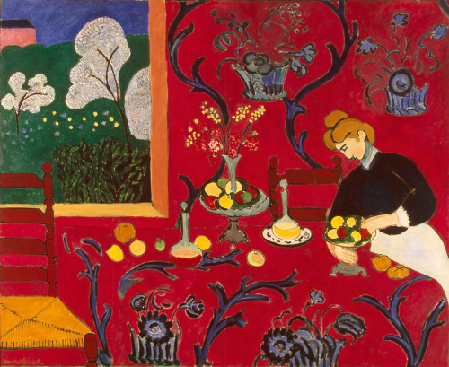 The Red Room (1908) by Henri Matisse
