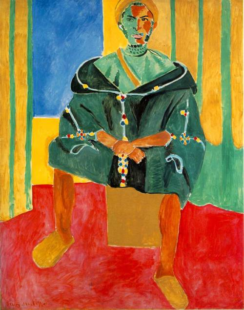 Seated Riffian (1912) by Henri Matisse