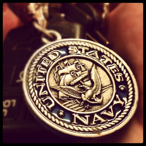 My car keys :) #navy #usn #america #chevy  (Taken with Instagram)