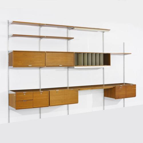 virtualnotebook:  George Nelson, Comprehensive Storage System, Herman Miller