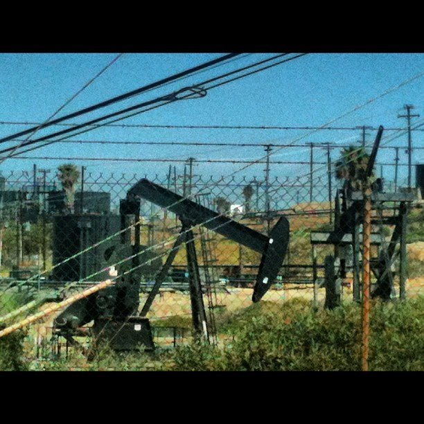 Oil #california  (Taken with Instagram)