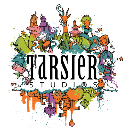 "Digital print for Tshirt designed for the company i work at ""Tarsier Studios"" -2012"