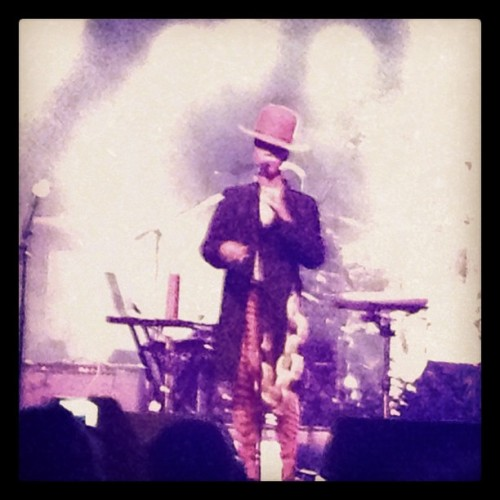 Eryka Badu performing at Esprit party Cologne wow! #esprit  (Taken with Instagram)
