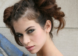 A MODEL's BEAUTY REGIME by Carole Hallac Curious about the beauty regime of a hot Brazilian model? Our muse of the week, 22 year old model Viviane Vidal, reveals to the Daily Pamp her beauty secrets. Tell us about your morning beauty routine.  I always use La Mer as a moisturizer. Before I go out, I put on basic make-up: concealer from Givenchy, some blush, my favorite is Nars in Orgasm, Lancome Hypnose Drama mascara and eye shadows from Mac.  How do you keep in shape?  I do yoga, pilates and I run. I am a vegetarian but I also eat fish for protein. I love Brasilian food but I also like Japanese.  How do you take care of your skin?  In the winter, I use Cetaphil to moisturize my body. For my face, my make-up removal product is from Bioderma, and I use the night serum from La Mer. For sun protection, I love the light milk from La Roche-Posay, 50SPF.For my lips, the great balm from La Mer.   What about your great locks?  Because of my work I have to take great care of my hair. Kerastase products are amazing; to protect my hair from the heat of styling tools I use Chroma Thermique Thermo-Radiance Protecting Milk and to treat split ends, Fibre Architecte dual serum. I am also a big fan of Moroccan Oil and Kiehl's Olive Fruit Oil shampoo and mask.  Any other favorite products?  Essie for nail polish, affordable and trendy. I change nail polish all the time. I love red and black especially for winter, but I use neutrals and pastels as well.   Who is your to-go professional?  The Brasilian salon Maria Bonita in Soho, New York. I do it all, hair, nails, massage, the real Brasilian way, which is the only way to go!  Where do you shop for your beauty products?  Sephora, I love to have my make-up done there.  Your fragrance?  Chance, Chanel.  Favorite designers?  Rebecca Taylor, Marc Jacobs, Rag & Bone and Current/Elliott.