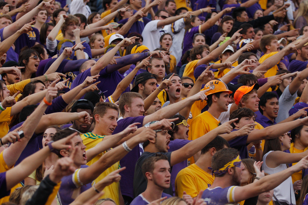 We think LSU has the loudest crowd in college football.