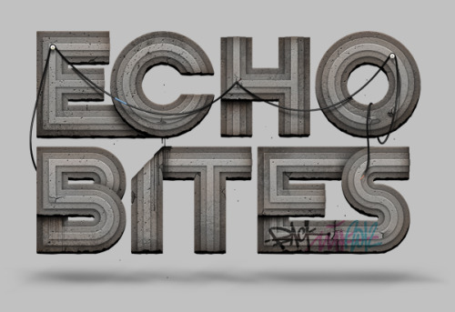 Typeverything.com Echo Bites by Artem Sukhinin.