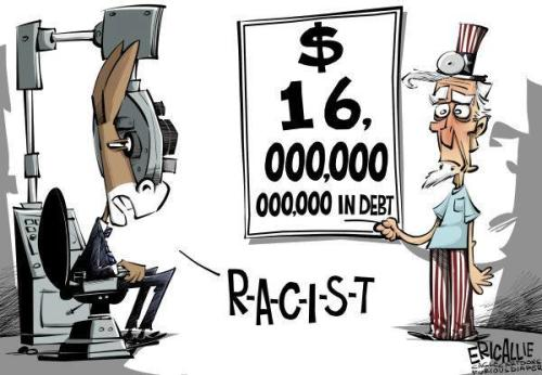 republican101:  EVERYTHINGS RACIST!