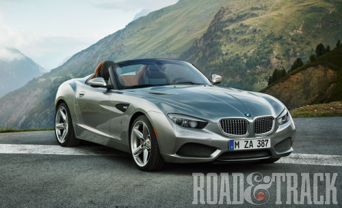 BMW Zagato Roadster – German engineering meets Italian design. (Source: Road & Track)