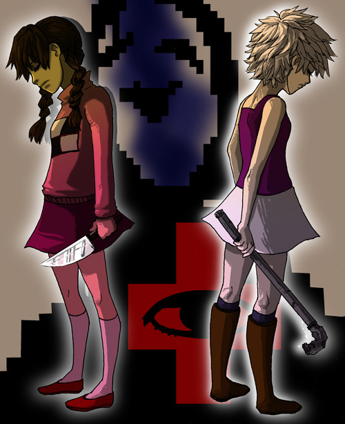 If you haven't played Yume Nikki or .flow GO DO IT NOW!  info, thoughts, and download links for both games at my blog post   http://roxyssketches.blogspot.com/2012/08/madotsuki-sabitsuki.html