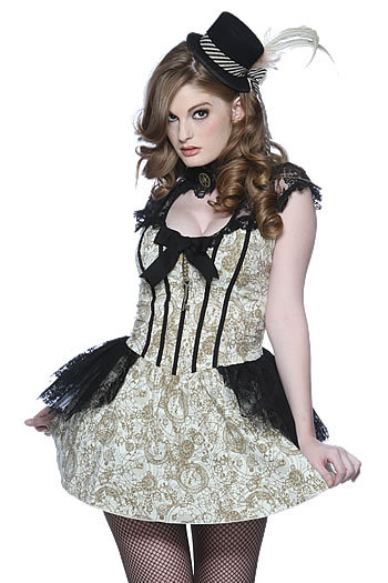 nosoysanta:  <dream comes true> Faye Reagan in Steampunk fashion! </dream comes true>