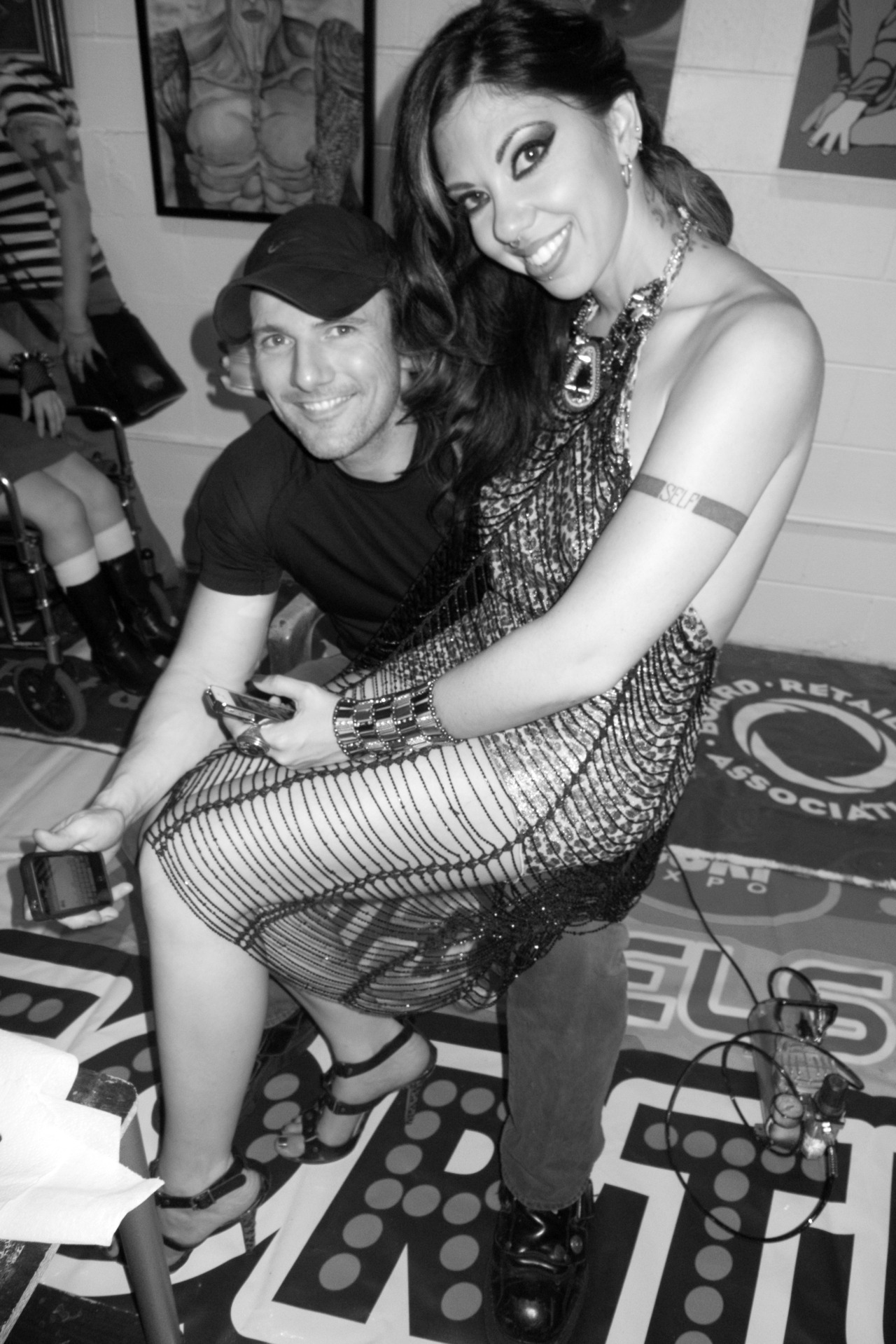 Satine Phoenix & David Mack. Photo ©2012 Coop.