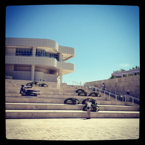 The Getty with @jenna0202. (Taken with Instagram)