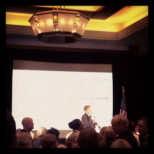 Patrick Kennedy at event honoring late Ted Kennedy #dnc2012  (Taken with Instagram)