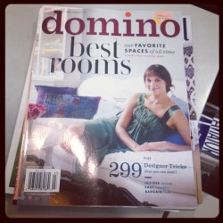 Yay! Domino mag - fall/winter  (Taken with Instagram)