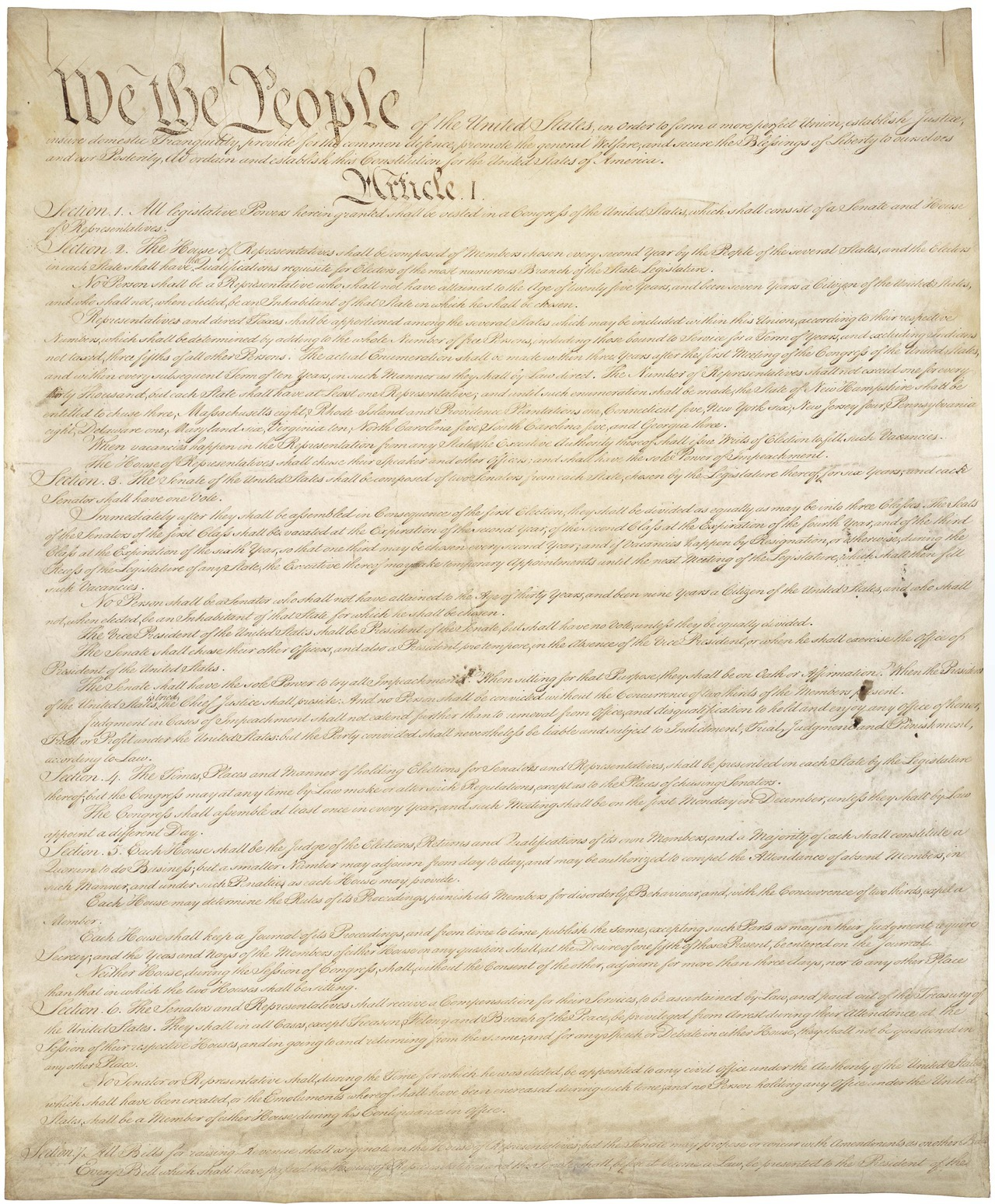 todaysdocument:  Celebrating the 225th Anniversary of the Constitution! More Constitution-related offerings from the National Archives, including: Constitution Day at the National Archives The Constitution of the United States View the Constitution in Person Read a Transcript of the Constitution Constitution of the United States Facebook page Check out our series of Constitution Blog posts on Prologue: Pieces of History Teaching Activities and Primary Sources from DocsTeach