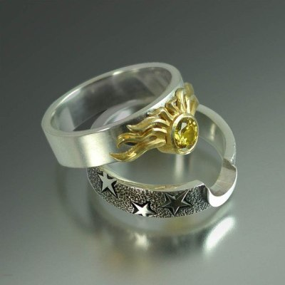 What Would Khaleesi Wear?Sun and Stars Nesting Rings submitted by onsilverstars