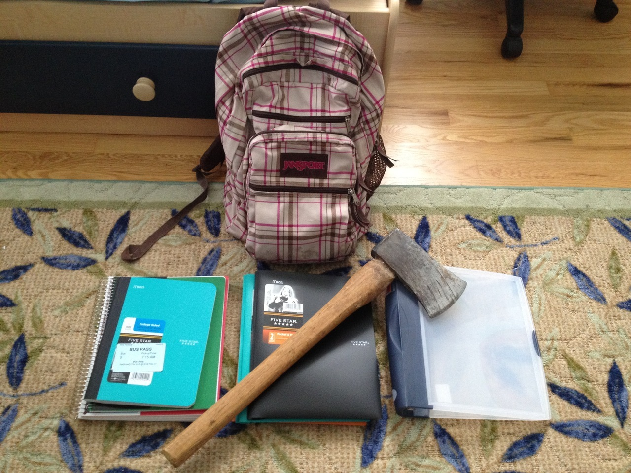 fifty-shades-of-johnlock:  nevertakesamsfashionadvice:   all packed and ready for school  are you dean winchester   he's obviously Sam, look at the pattern on his bag